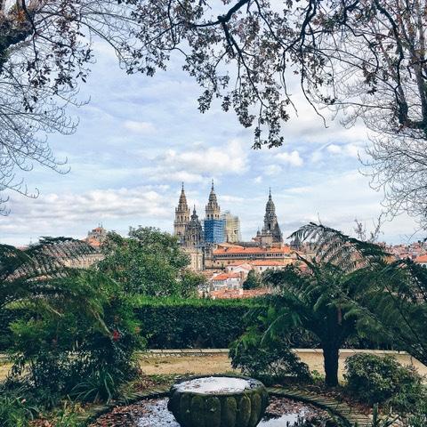mirador de la Catedral de Santiago