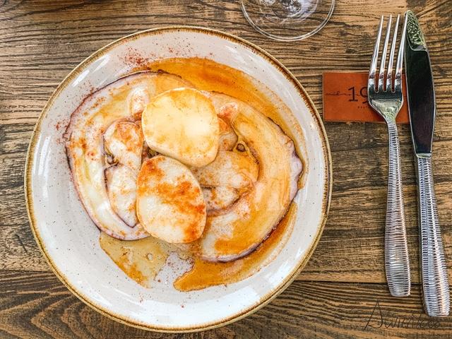 plato de pulpo original