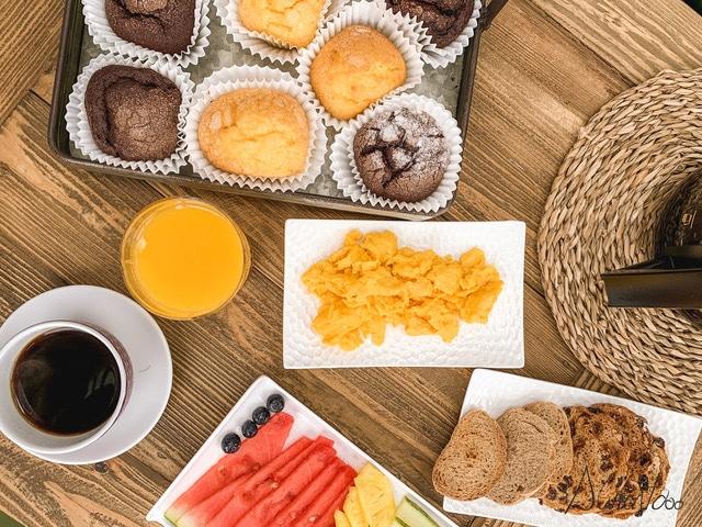 desayuno buffet en Galicia