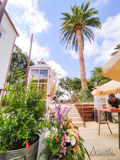 Jardin hoteles en Arzua