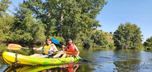 paseo en canoa rio Torto