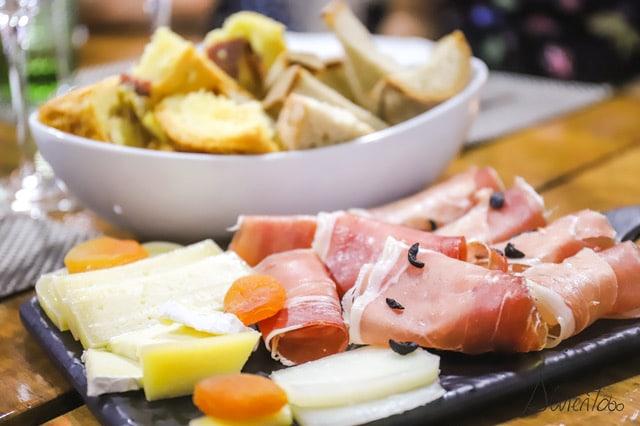 comer en el norte de Portugal