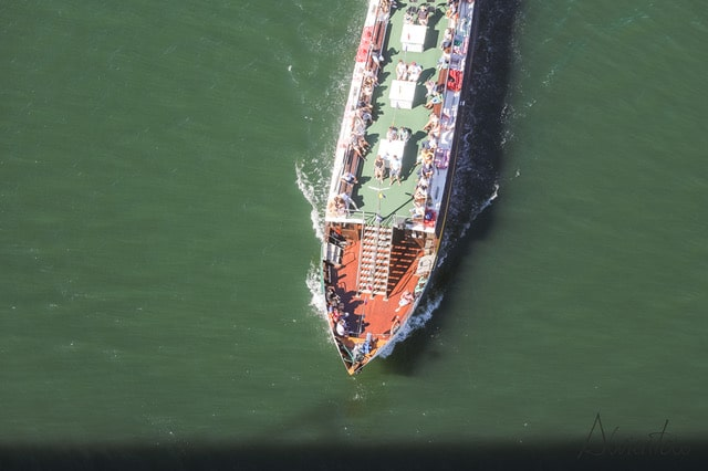ruta en barco por Oporto