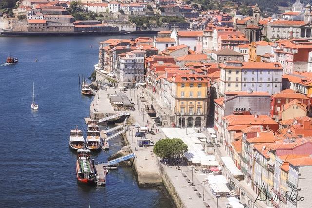 barcos en Oporto
