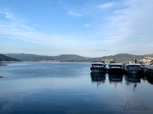 Puerto de San Adrian en Vilaboa