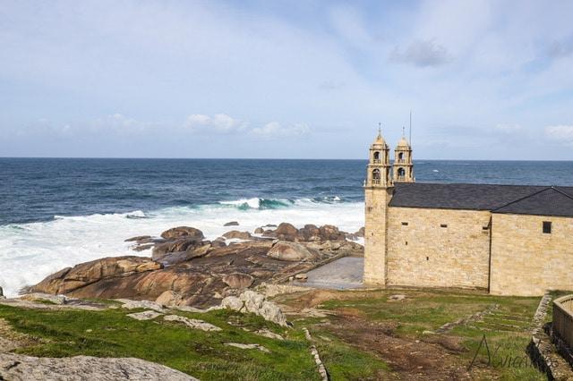 Santuario Virxe da Barca en Muxia