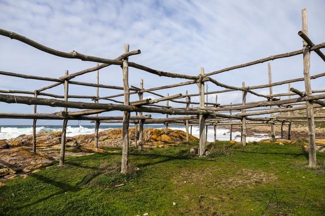 secaderos de Congrio en Muxia