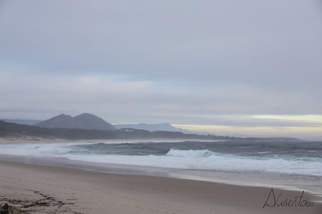 playa de Lariño en Carnota
