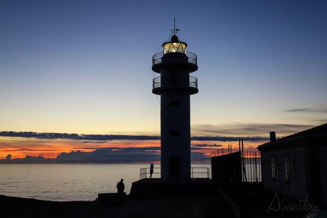 Faro de Touriñan en Costa da Morte