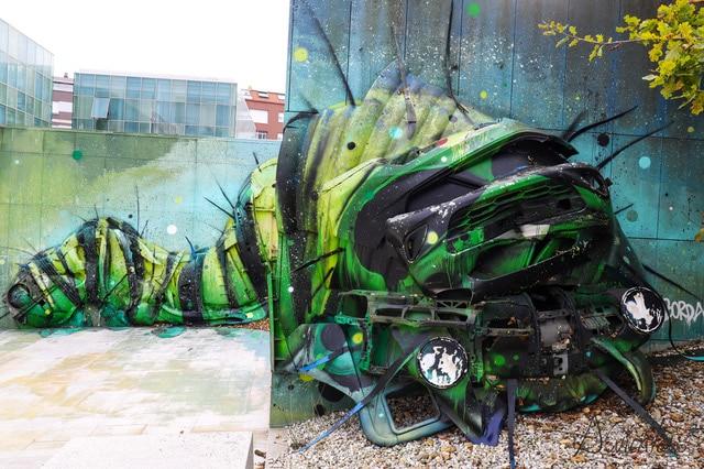 murales en Carballo