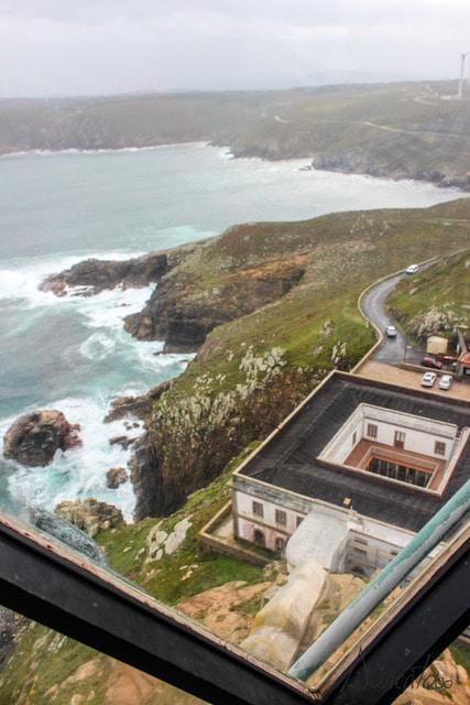 subir al Faro de Cabo Vilan