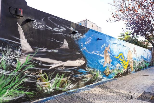 murales en Setúbal