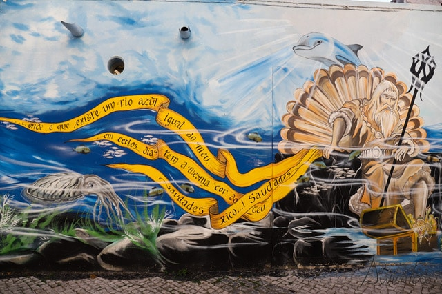 arte urbano en Setúbal