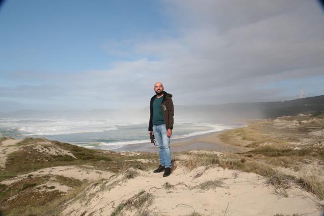 Praia do Rostro en Fisterra