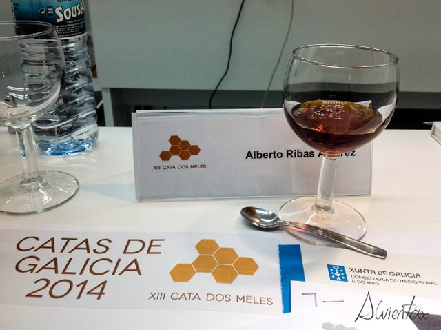 cata oficial de miel en Galicia