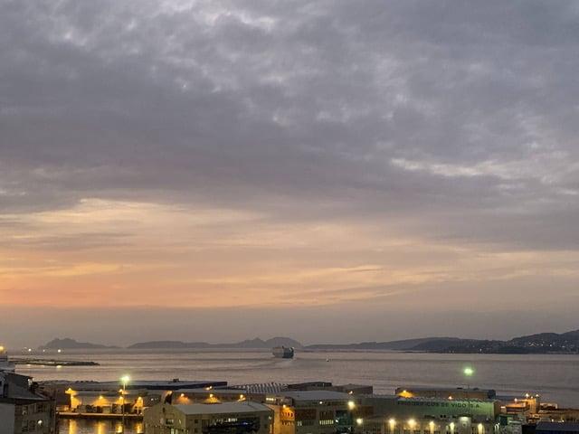 Vistas de la Ria de Vigo