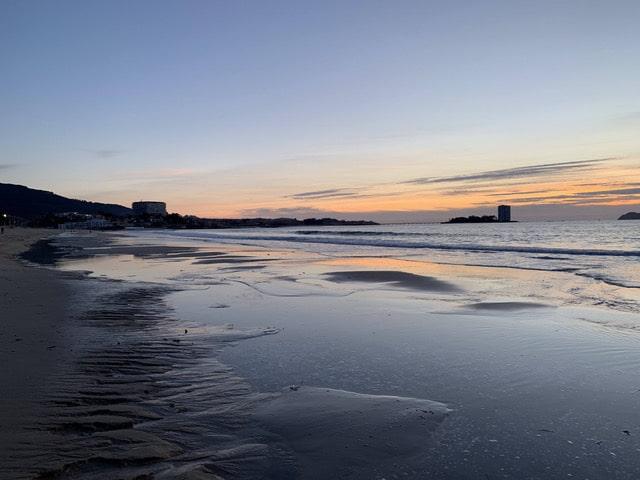 Donde ver la puesta de sol en Vigo