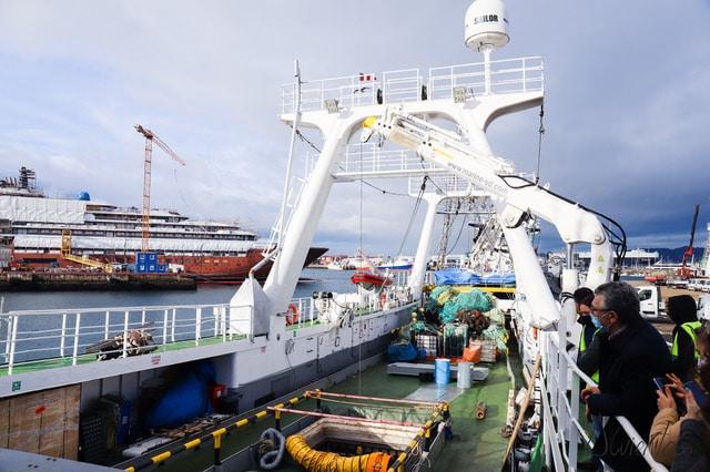 visitas al puerto de Vigo