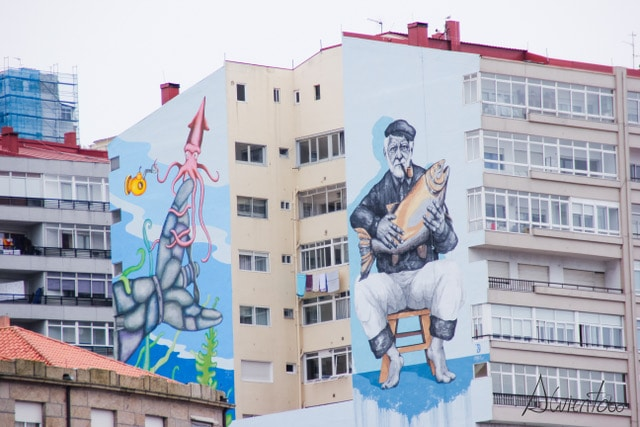 Murales en Vigo