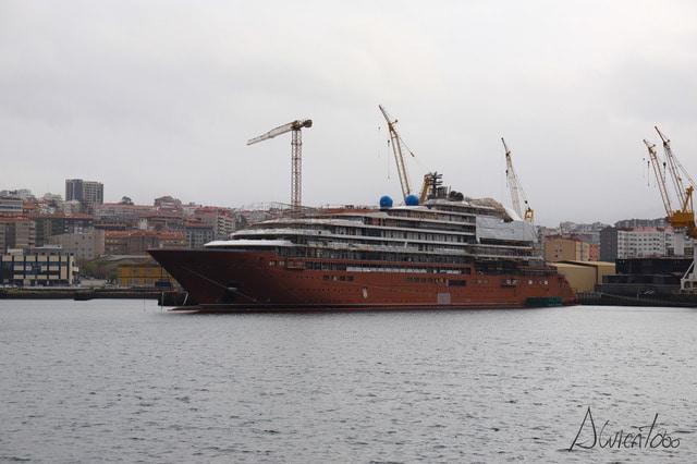 Crucero de Ritz Carlton en Vigo