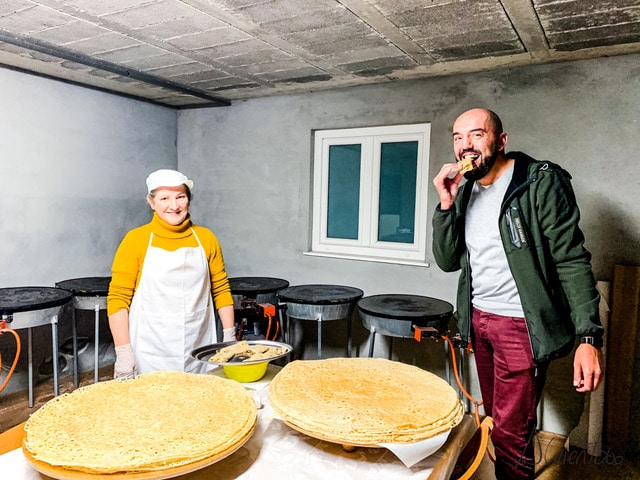 Filloas de Zas
