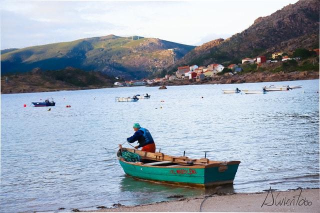 Pescador en Costa da Morte