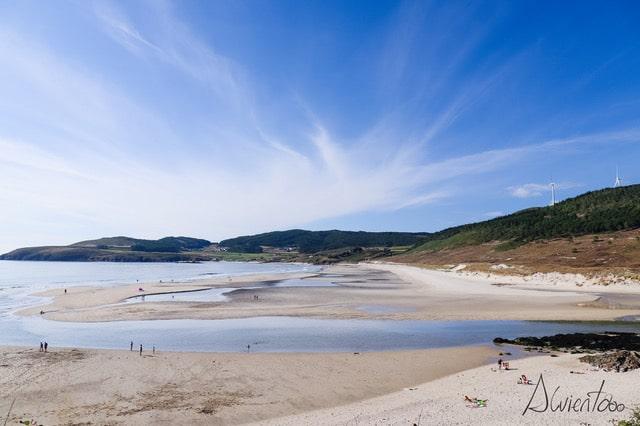 Playa de Nemiña y Ria de Lires