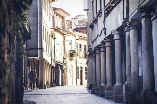 casco histórico de Pontevedra