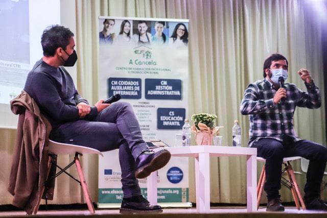 Charla con Javier Olleros y Alberto Baamonde