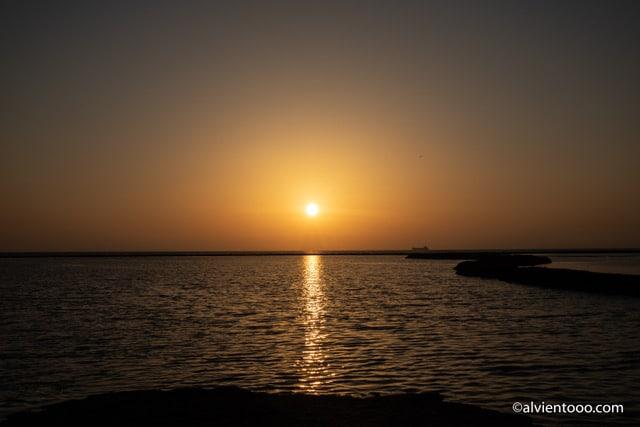 Puestas de sol en Chipiona