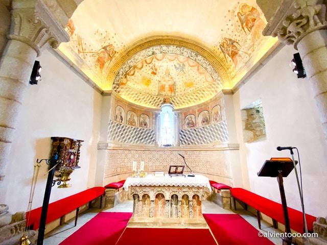 iglesia de Santa Maria de Melide