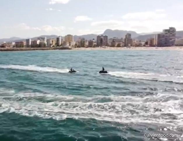 motos de agua en gandia