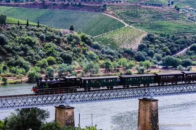 trenes históricos en Portugal
