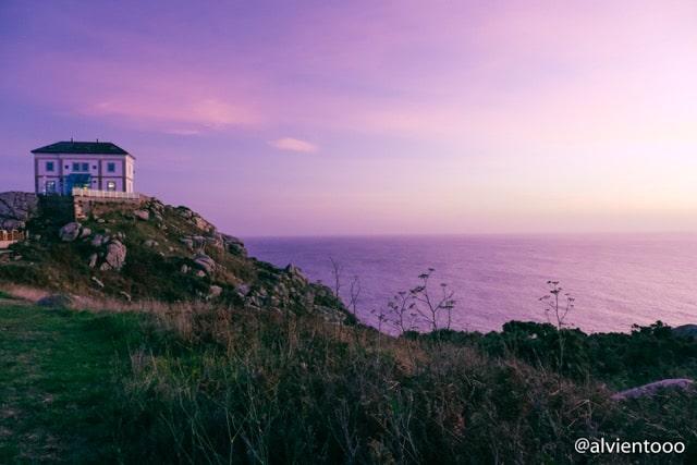 puesta de sol en Costa da Morte