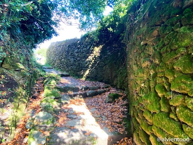 camino de Santiago en Corcubión